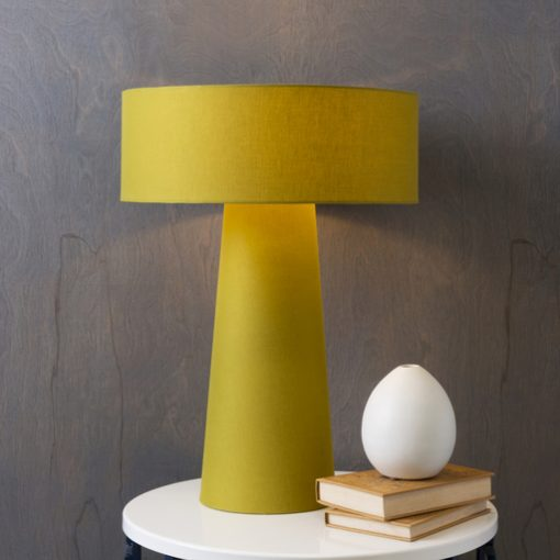 Yellow Table Lamp Hogar Es