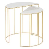 GOLD NESTING TABLE